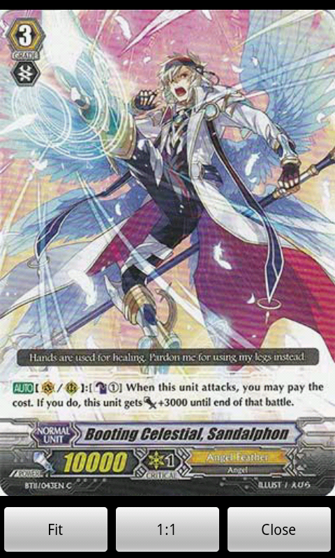 Cardfight Vanguard Database- screenshot