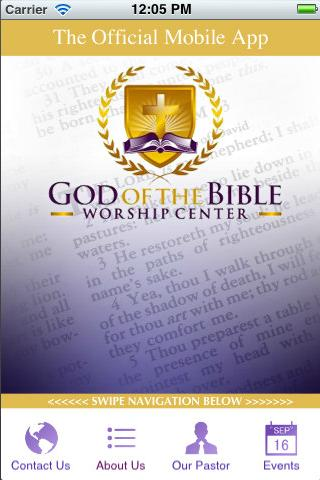 God of the Bible Worship