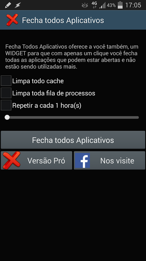 Close All Apps - screenshot