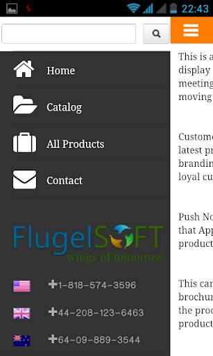 OpenCart Catalog Mobile App