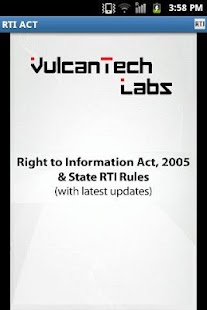 RTI Act (India) & State Rules- screenshot thumbnail