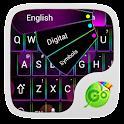 GO Keyboard Rainbow Neon Theme icon