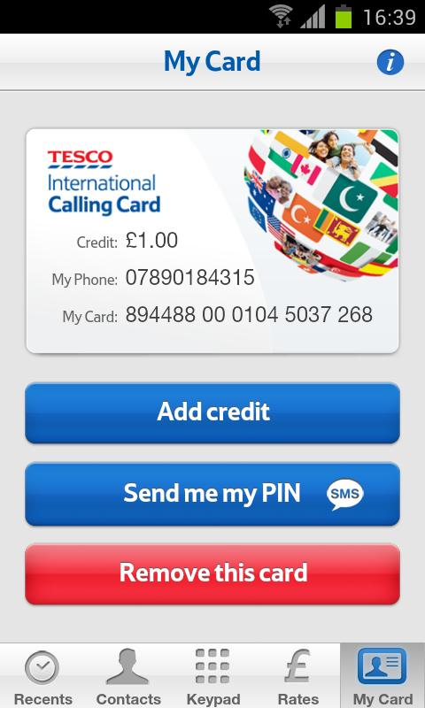 tesco international calling android apps on google play. Black Bedroom Furniture Sets. Home Design Ideas