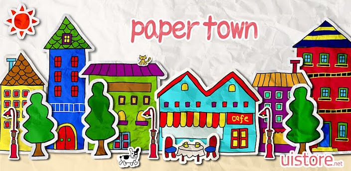 paper town LiveWallpaper