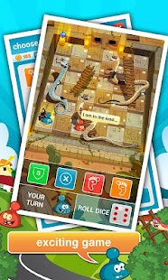 Rattle Battle (Snakes&Ladders) - screenshot thumbnail