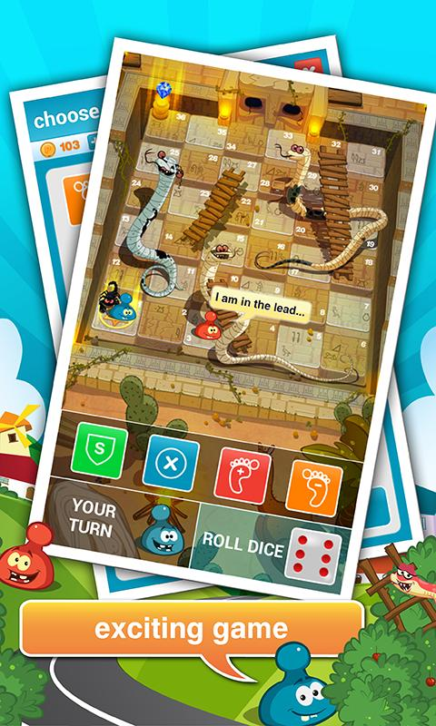 Rattle Battle (Snakes&Ladders) - screenshot