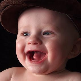 Smile by Ólafur Ingi Ólafsson - Babies & Children Babies ( smile, smiles, hat,  )