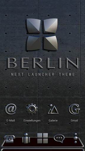 Next Launcher Theme Berlin