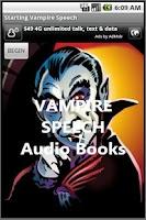 Screenshot of Vampire Audio Books in English