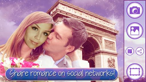 玩攝影App|爱在巴黎相框免費|APP試玩