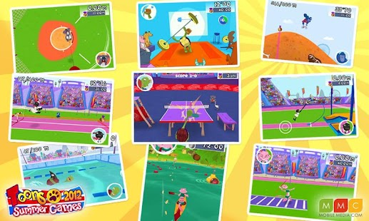 Toons Summer Games 2012 - screenshot thumbnail