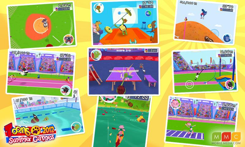 Toons Summer Games 2012 - screenshot