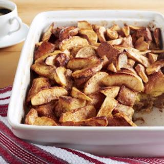 Aunt Elaine's Apple Cinnamon Baked French Toast