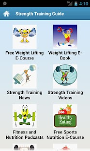 Strength Training Guide! - screenshot thumbnail