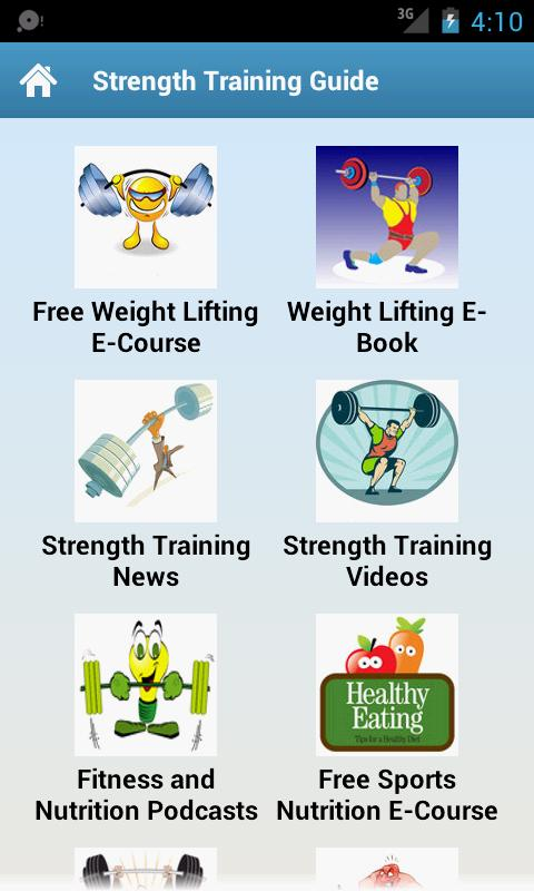 Strength Training Guide! - screenshot