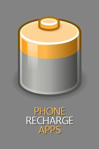 Phone Recharge Apps