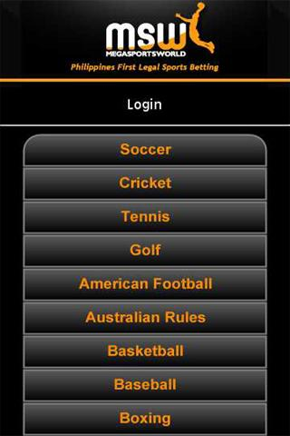 MegaSportsWorld - screenshot
