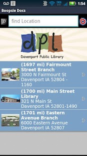Davenport Public Library - screenshot thumbnail