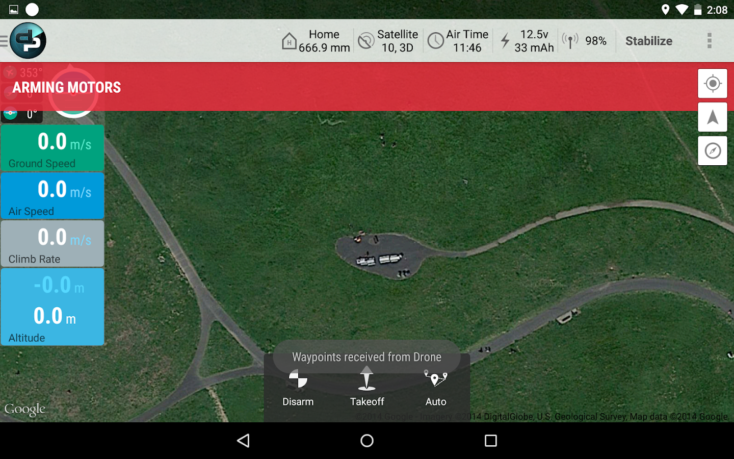 DroidPlanner 2- screenshot