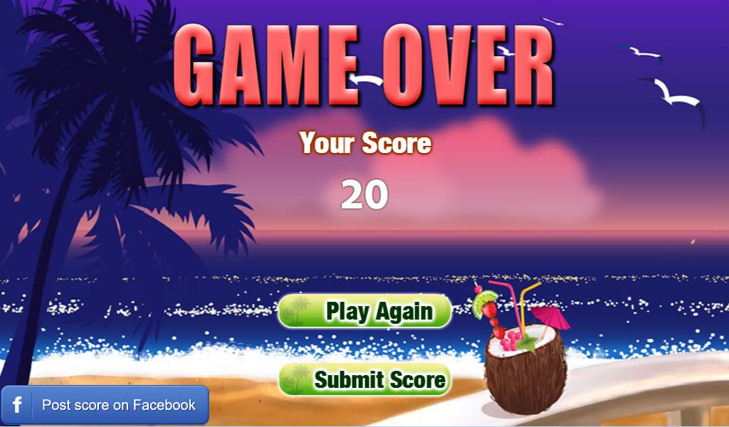 Freecell Summer Holiday - screenshot
