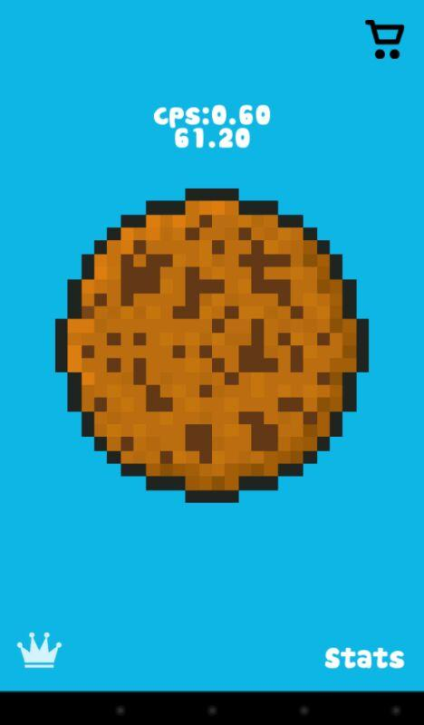 Cookie Clicker Pixel- screenshot