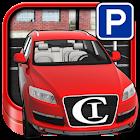 停車場車神 3D icon