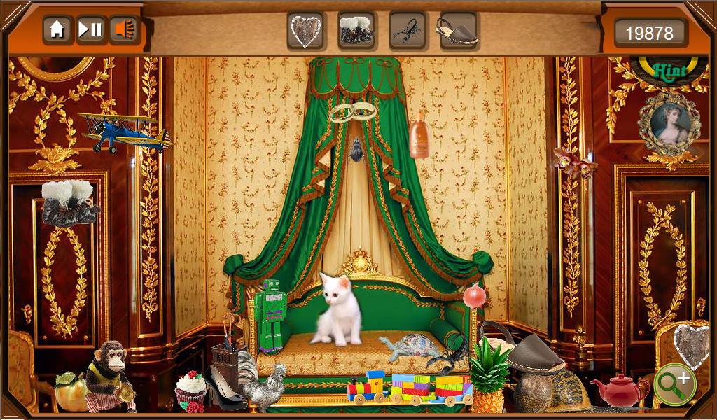 Hidden Object - Bedroom Cats- screenshot