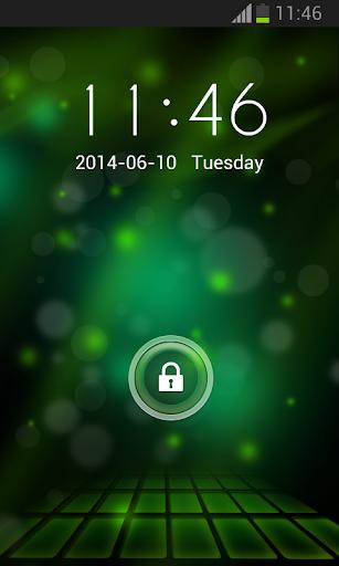 HTC One用のロッカーの画面