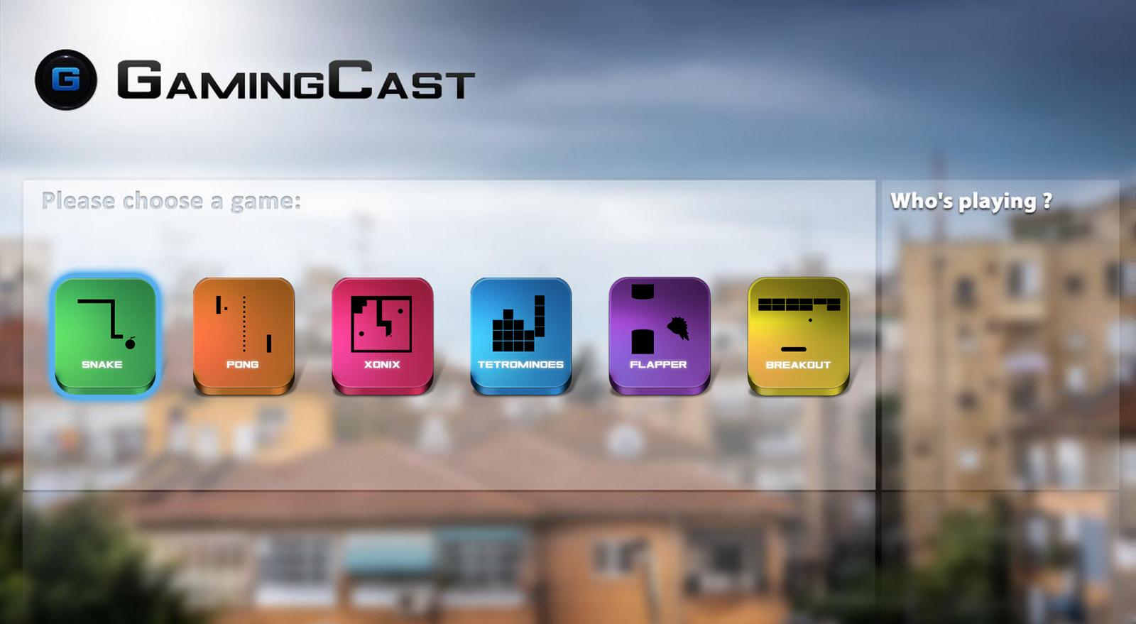 GamingCast (for Chromecast)- screenshot
