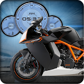 KTM RC8R Moto Live Wallpaper