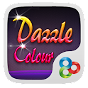(FREE) Dazzle Color GO Theme icon