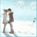 Love in Snowfall wallpaper icon