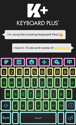 霓虹灯键盘主题