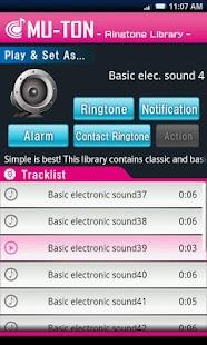 Basic elec. sound library4 - náhled