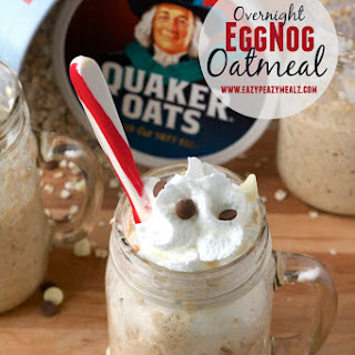 Overnight Eggnog Oatmeal Recipes