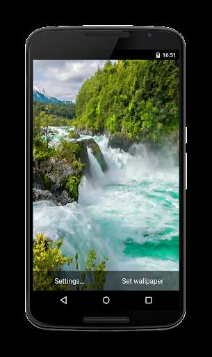 Waterfall HD Live Wallpaper