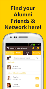 JOIN Alumni Find School Friend - screenshot thumbnail