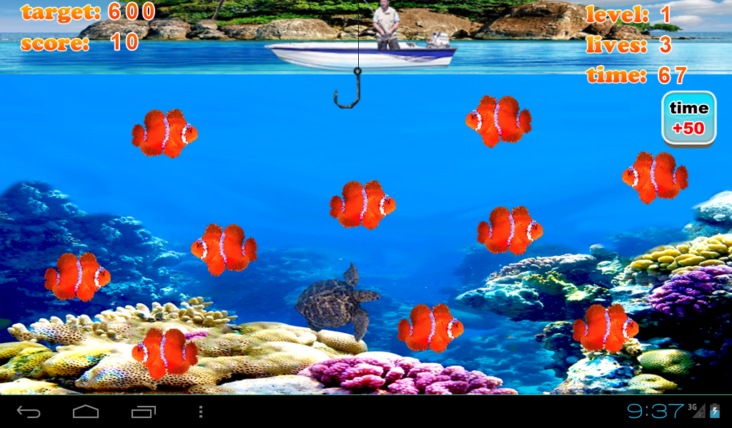 Crazy fishing joy android apps on google play for Fishing game android