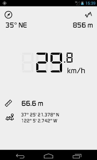 Velocimetro GPS digital