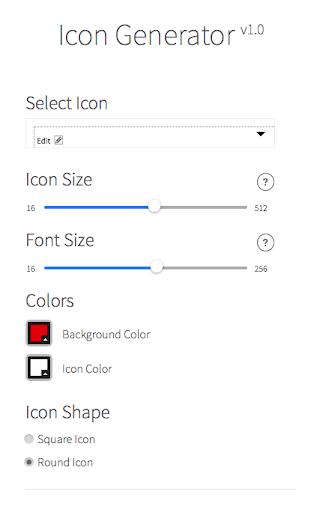 Icon Generator Droid