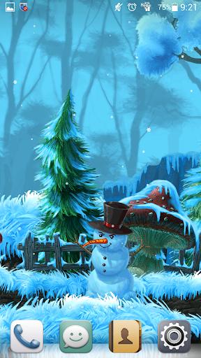 Winter Cartoon Forest Free