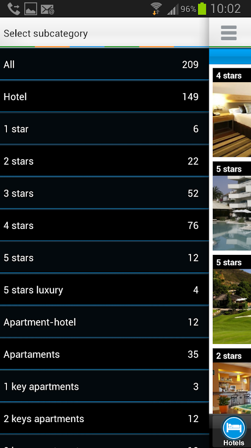 Costa del Sol Hotels- screenshot