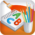 Painting, Coloring & Learning logo