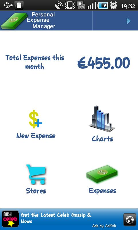 Personal Expense Manager- screenshot