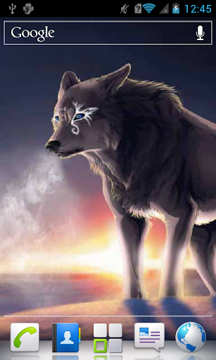 Frost Wolf a live