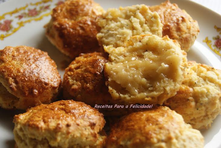 Honey Butter and Cinnamon Scones Recipe