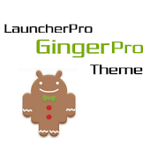 LauncherPro GingerPro Theme