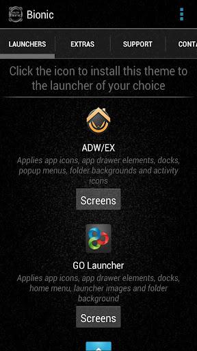 免費個人化App|Bionic Launcher Theme White|阿達玩APP