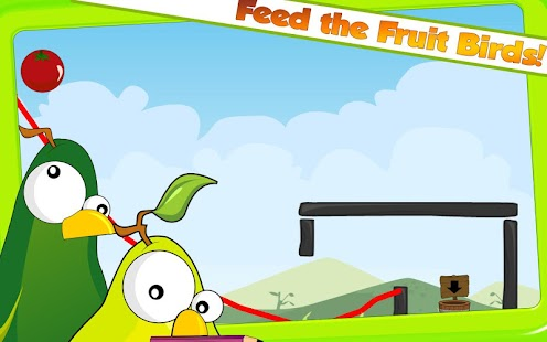 Fruit Birds Draw HD - screenshot thumbnail