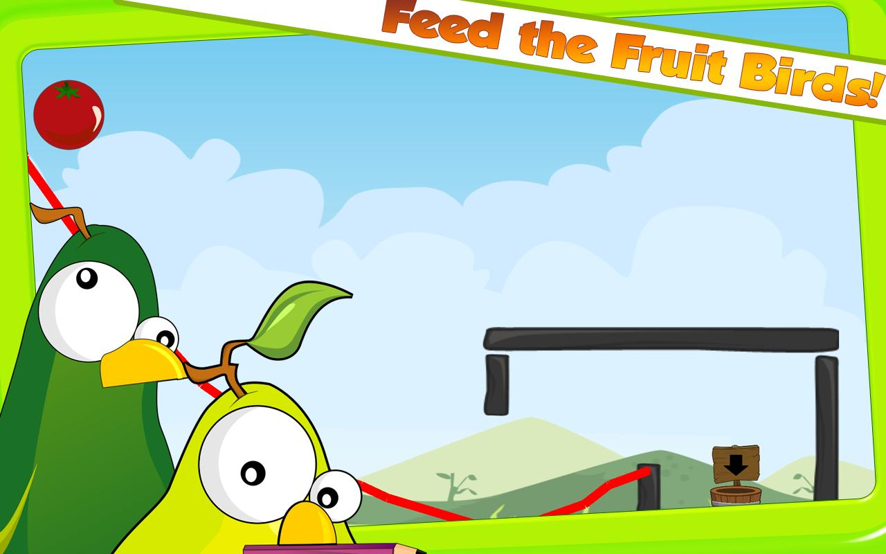Fruit Birds Draw HD - screenshot